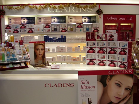 Clarins Display
